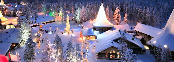 village pere noel finlande Rovaniemi Village Père Noel, visites et multi activités, Rovaniemi  village pere noel finlande